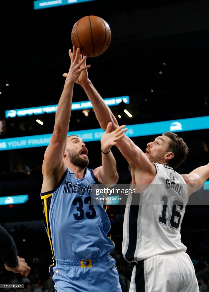 Memphis Grizzlies v San Antonio Spurs : News Photo
