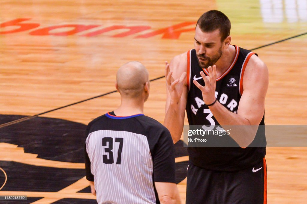 Toronto Raptors v New York Knicks - NBA Game : ニュース写真
