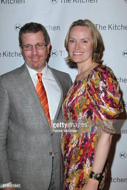 Marc Glimcher and Andrea Glimcher attend THE KITCHEN Spring Gala Benefit Honoring DAVID BYRNE at Capitale on May 26 2010 in New York City