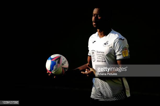 Marc Guehi of Swansea City during the Sky Bet Championship match between Swansea City and Huddersfield Town at the Liberty Stadium on October 17 2020...