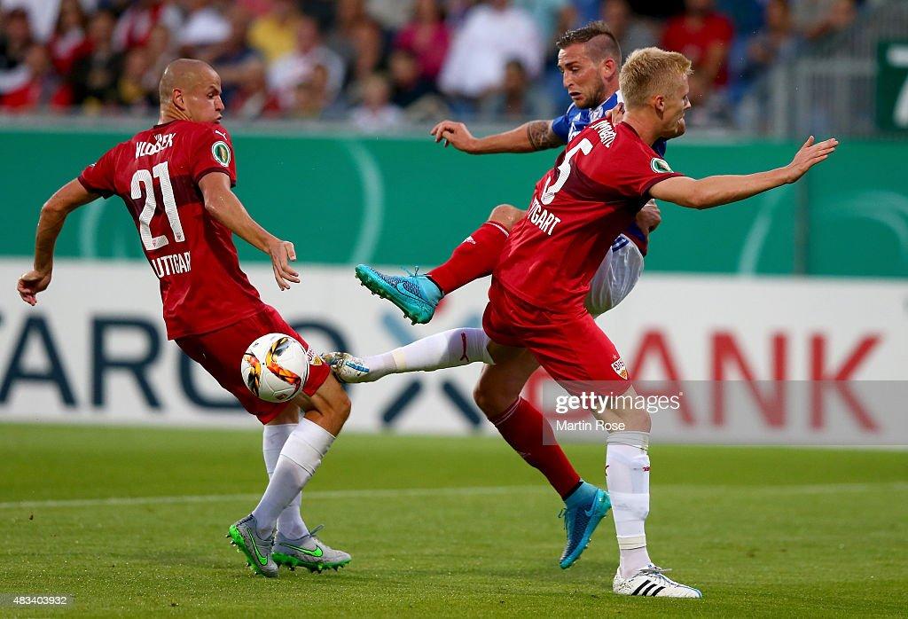 Holstein Kiel v VfB Stuttgart  - DFB Cup