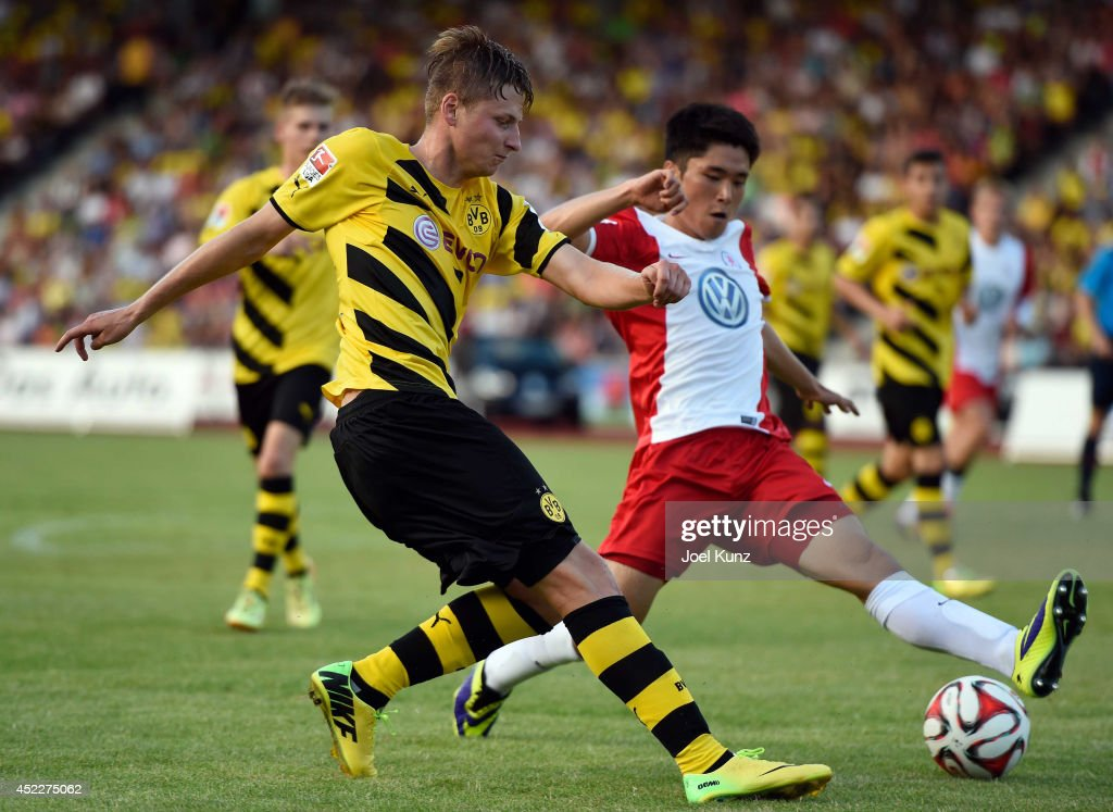 Hornschuh Kassel hessen kassel v borussia dortmund match photos and images