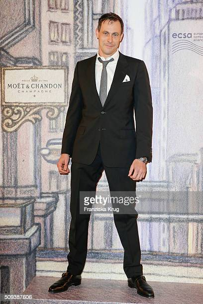 Marc Hosemann attends the Moet Chandon Grand Scores 2016 at Hotel De Rome on February 6 2016 in Berlin Germany