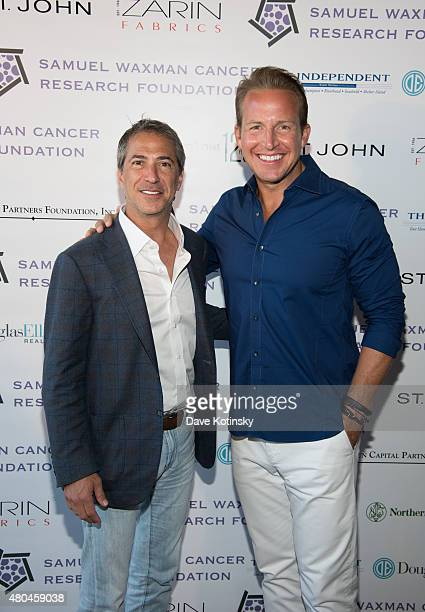 Marc J. Leder and Chris Wragge attend the Samuel Waxman Cancer Research Foundation 11th Annual A Hamptons Happening on July 11, 2015 in Southampton,...
