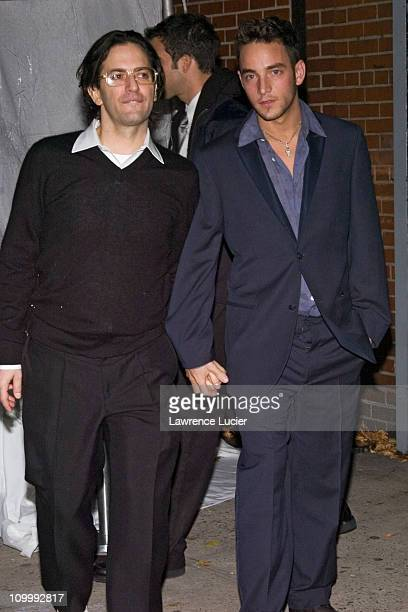 Marc Jacobs and boyfriend Jason Preston during Lauren Family Sighting in the West Village of New York City November 10 2005 at West Village in New...