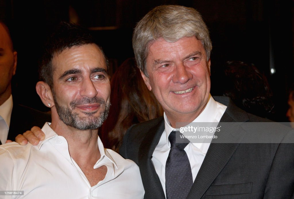 4db80a6e21f Marc Jacobs and CEO & Chairman of Louis Vuitton Yves Carcelle ...