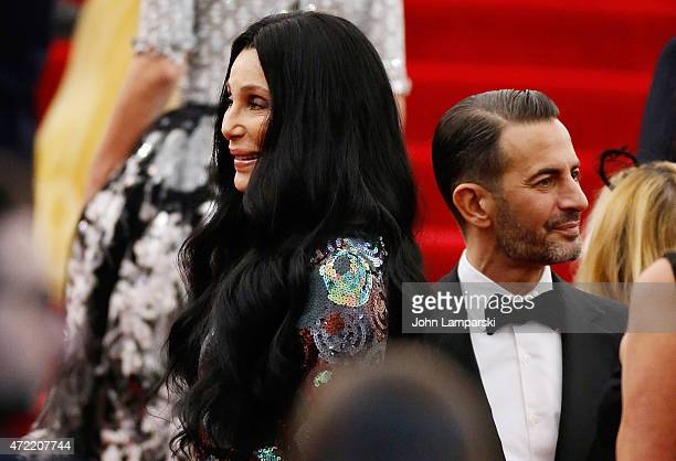 Marc Jacobs and Cher attend China Through The Looking Glass Costume Institute Benefit Gala at Metropolitan Museum of Art on May 4 2015 in New York...