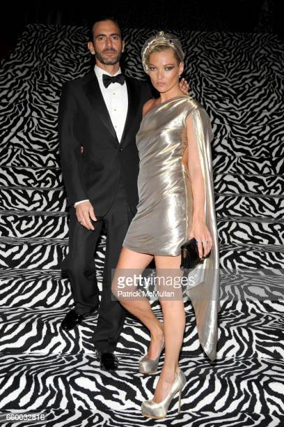 Marc Jacobs and Kate Moss attend THE COSTUME INSTITUTE GALA The Model As Muse with Honorary Chair MARC JACOBS INSIDE at The Metropolitan Museum of...