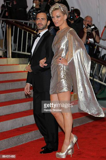 """Marc Jacobs and Kate Moss attends """"The Model as Muse: Embodying Fashion"""" Costume Institute Gala at The Metropolitan Museum of Art on May 4, 2009 in..."""