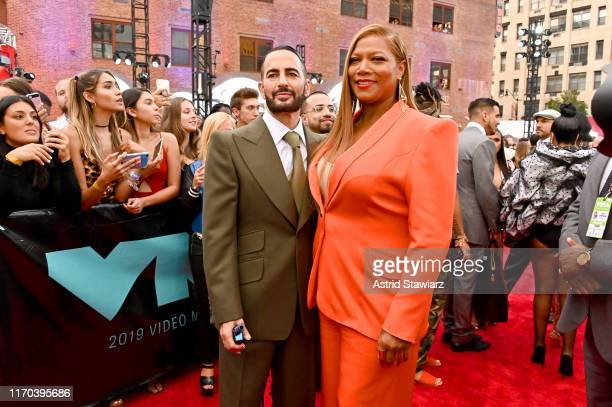 Marc Jacobs and Queen Latifah attend the 2019 MTV Video Music Awards at Prudential Center on August 26, 2019 in Newark, New Jersey.