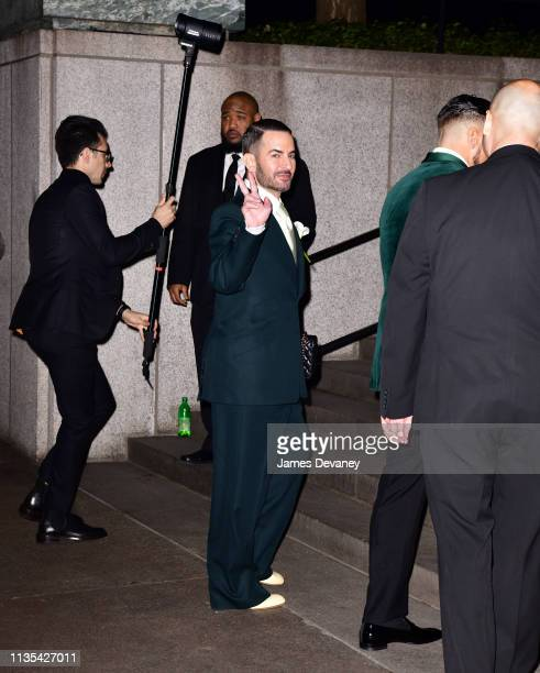 Marc Jacobs arrives to The Grill and The Pool on April 6 2019 in New York City