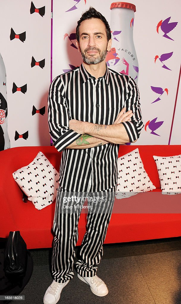 Marc Jacobs attends a party celebrating 30 years of Diet Coke and announcing his new role as Creative Director for Diet Coke in 2013 at the German Gymnasium Kings Cross on March 11, 2013 in London, England.
