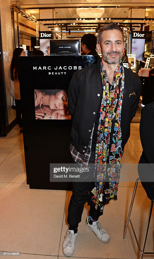 Harrods Hosts Q&A With Marc Jacobs To Celebrate The Exclusive Launch Of Marc Jacobs Beauty