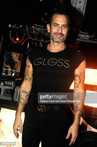 Marc Jacobs attends Gloss The Work Of Chris Von Wangenheim Book Launch Party at The Tunnel on September 10 2015 in New York City