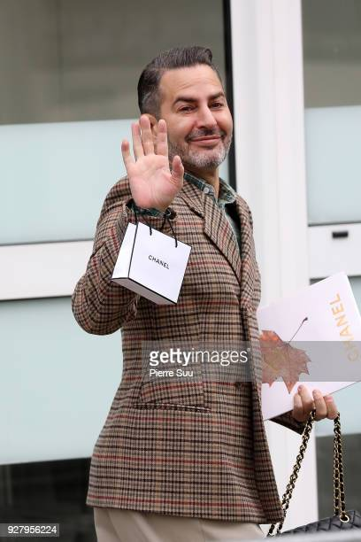 Marc Jacobs attends the Chanel show as part of the Paris Fashion Week Womenswear Fall/Winter 2018/2019 on March 6 2018 in Paris France