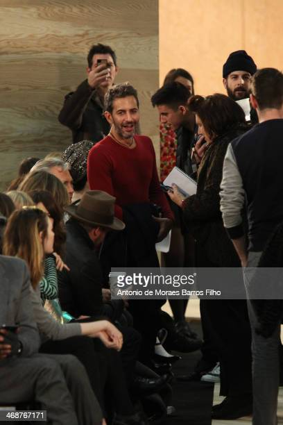 Marc Jacobs attends the Marc By Marc Jacobs fall 2014 fashion show on February 11 2014 in New York City
