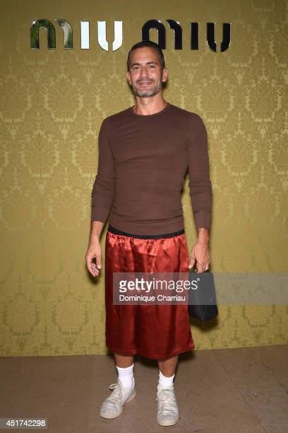 Marc Jacobs attends the Miu Miu Resort Collection 2015 at Palais d'Iena on July 5 2014 in Paris France