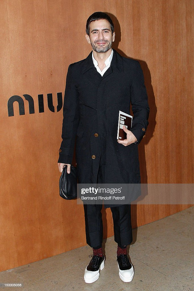 Marc Jacobs attends the Miu Miu Spring/Summer 2013 show as part of Paris Fashion Week on October 3, 2012 in Paris, France.