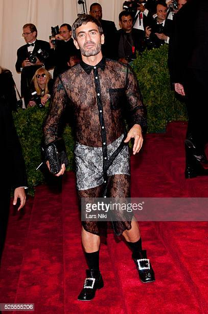 Marc Jacobs attends the Schiaparelli and Prada Costume Institute Benefit red carpet arrivals at the Metropolitan Museum of Art in New York City �� LAN