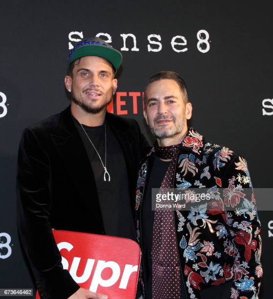 Marc Jacobs attends the Sense8 New York Premiere at AMC Lincoln Square Theater on April 26 2017 in New York City