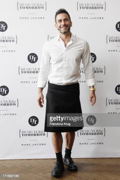 Marc Jacobs Bei Der Pressekonferenz Als Schirmherr Des Nachwuchsawards Designer For Tomorrow By Peek Cloppenburg Düsseldorf Im Soho House In Berlin
