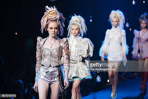 Marc Jacobs debuted his SS17 collection at the Hammerstein Ballroom to close out New York Fashion Week on September 15