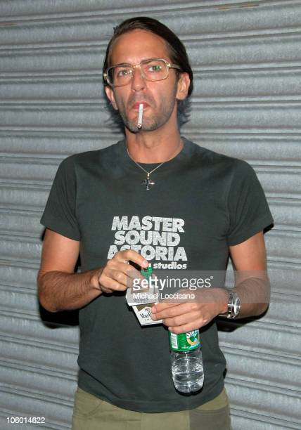 Marc Jacobs during Christina Aguilera's NYC Album Release Party August 15 2006 at Marquee in New York City New York United States