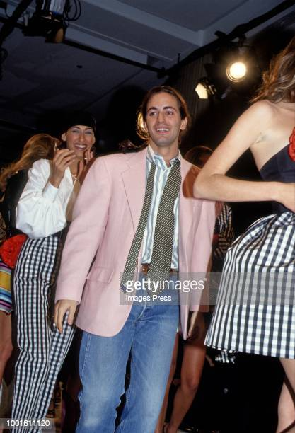 Marc Jacobs during New York Fashion Week circa 1991 in New York.