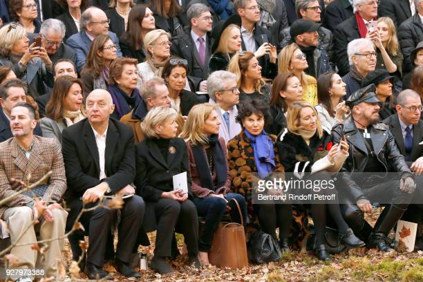 Marc Jacobs Executive Chairman of the Federation of Haute Couture and Fashion Pascal Morand President of Reunion des Musees Nationaux Sylvie Aubac...