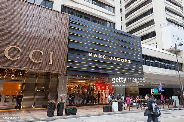 marc jacobs flagship store - gucci beauty stock pictures, royalty-free photos & images