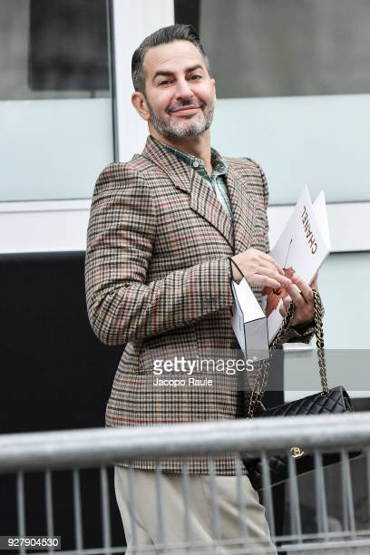 Marc Jacobs is seen arriving at Chanel Fashion Show during the Paris Fashion Week Womenswear Fall/Winter 2018/2019 on March 6 2018 in Paris France