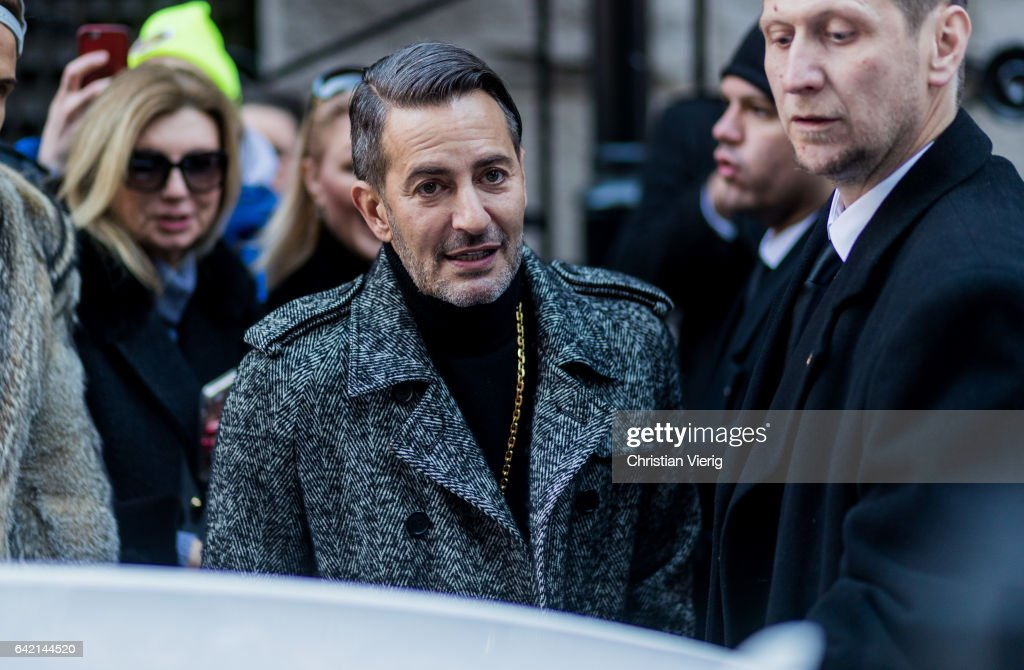 Marc Jacobs outside Marc Jacobs on February 16, 2017 in New York City.