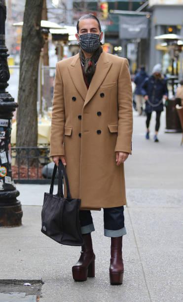 NY: Celebrity Sightings In New York City - January 21, 2021