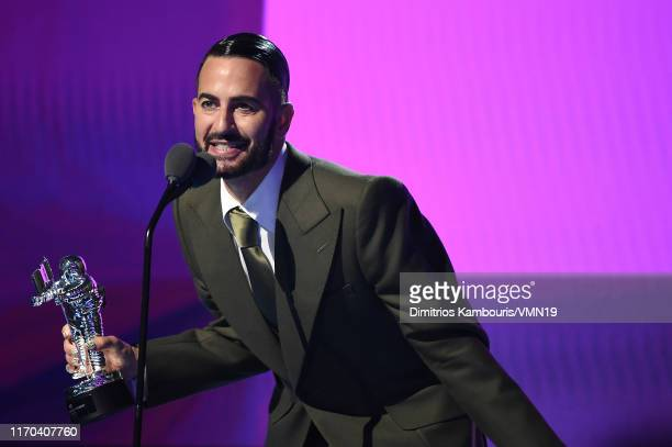 Marc Jacobs speaks onstage during the 2019 MTV Video Music Awards at Prudential Center on August 26 2019 in Newark New Jersey