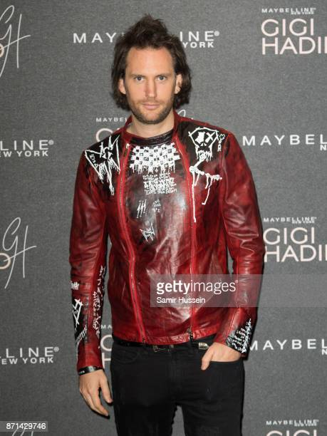 Marc Jacques Burton attends athe Gigi Hadid X Maybelline party held at 'Hotel Gigi' on November 7 2017 in London England