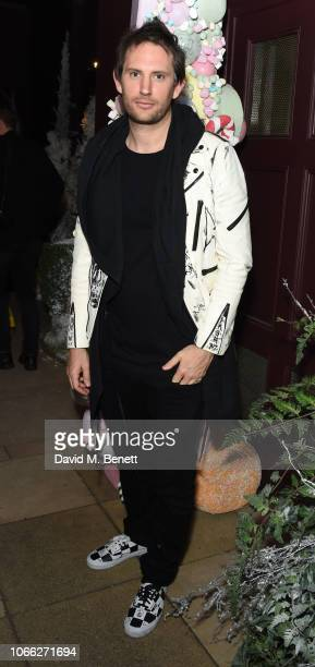 Marc Jacques Burton attends The Evening Standard Insider launch party at Sketch on November 28 2018 in London England