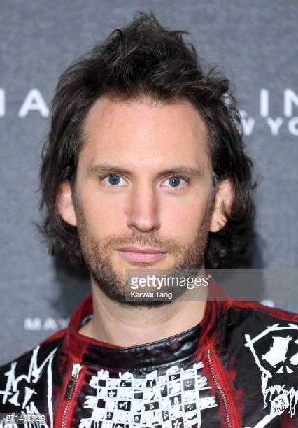 Marc Jacques Burton attends the Gigi Hadid X Maybelline party held at 'Hotel Gigi' on November 7 2017 in London England