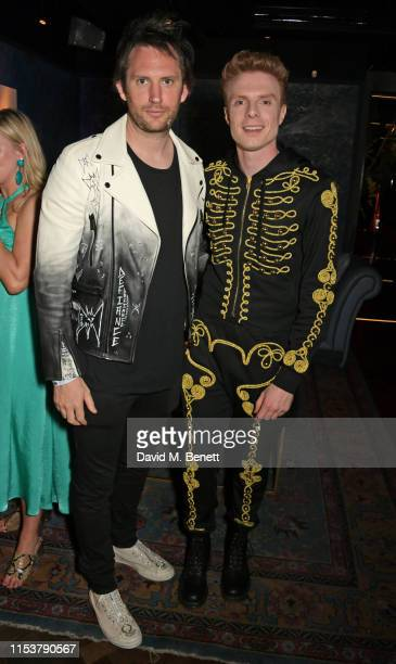 Marc JacquesBurton and Lewis Corner attend as CIROC x Moschino celebrate Pride In London with the hottest party of the summer hosted by Jeremy Scott...