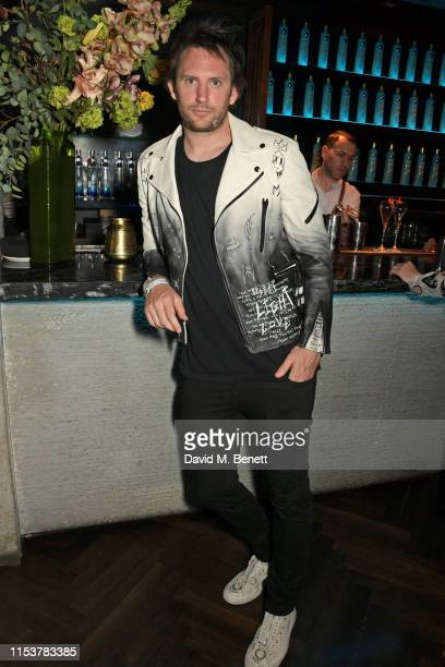 Marc JacquesBurton attends as CIROC x Moschino celebrate Pride In London with the hottest party of the summer hosted by Jeremy Scott at MNKY HSE on...