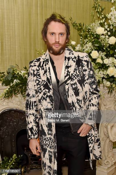 Marc JacquesBurton attends the British Vogue and Tiffany Co Fashion and Film Party at Annabel's on February 2 2020 in London England