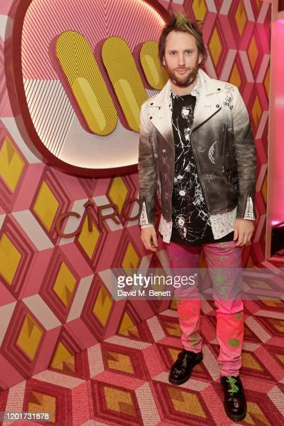Marc JacquesBurton attends the Warner Music CIROC BRIT Awards house party in association with GQ at The Chiltern Firehouse on February 18 2020 in...