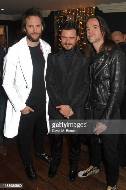 Marc JacquesBurton Orlando Bloom and Jason McNab attend the Flaunt Magazine and Dunhill party celebrating 'The Voyage Issue' honouring Orlando Bloom...