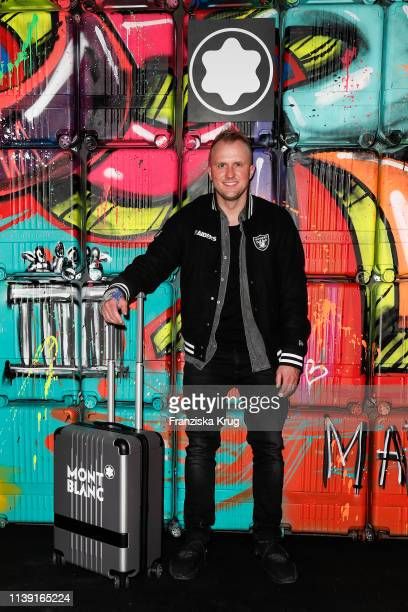 """Marc Jung during the Montblanc launch event """"Reconnect To The World"""" at Metropol Theater on April 24, 2019 in Berlin, Germany."""