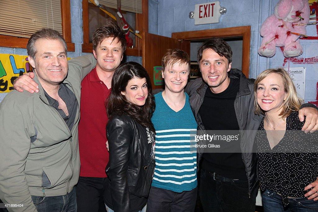 Celebrities Visit Broadway - May 1, 2015