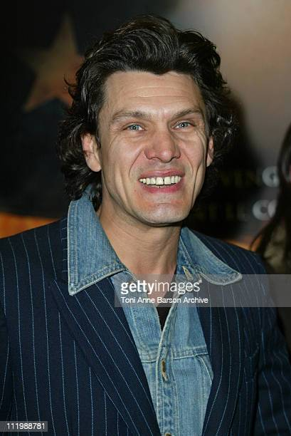 Marc Lavoine during Gangs of New York Premiere Paris at UGC Normandy Champs Elysees in Paris France