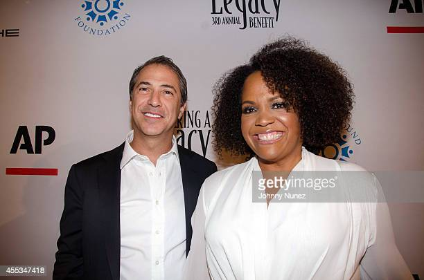 Marc Leder and Lisa Price attend the 3rd Annual Compound Foundation Fostering A Legacy Benefit at Gotham Hall on September 12, 2014 in New York City.
