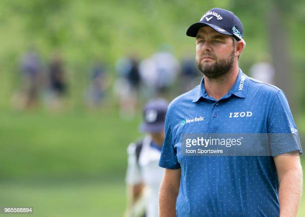 Marc Leishman during the second round of the Memorial Tournament at Muirfield Village Golf Club in Dublin Ohio on June 01 2018