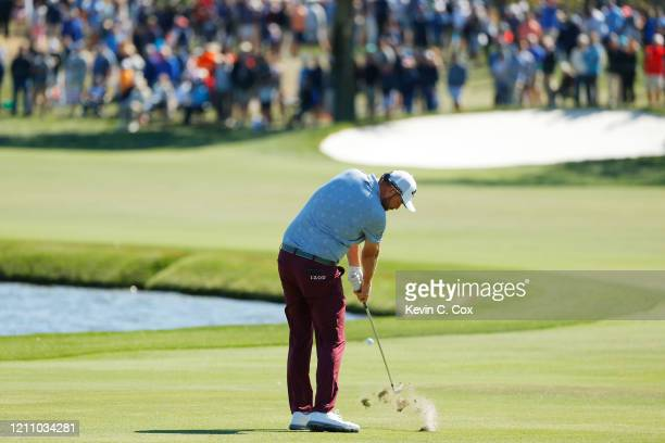 Marc Leishman of Australia plays a shot on the sixth hole during the third round of the Arnold Palmer Invitational Presented by MasterCard at the Bay...