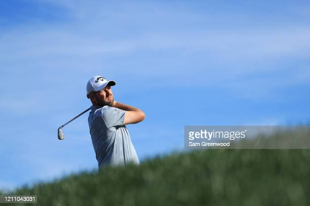 Marc Leishman of Australia plays his shot from the 14th tee during the third round of the Arnold Palmer Invitational Presented by MasterCard at the...