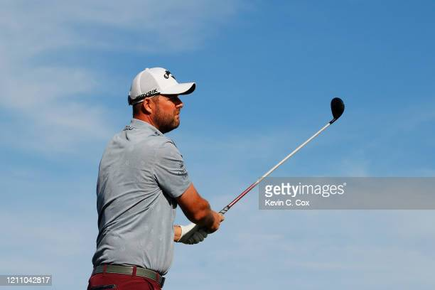 Marc Leishman of Australia plays his shot from the 15th tee during the third round of the Arnold Palmer Invitational Presented by MasterCard at the...